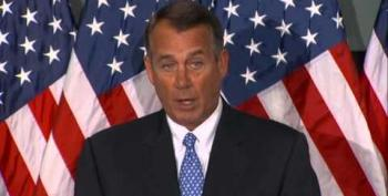 Boehner: Obamacare Hanging Over Economy Like A 'Wet Blanket'