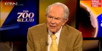 Pat Robertson Tells Mother Who Can't Heal Son's Deafness She's Doing Something Wrong