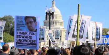 Thousands Protest NSA In Washington