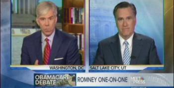 Mitt Romney Concern Trolls About President Obama's Honesty On Meet The Press