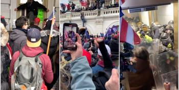 Inside The Capitol Riot: What The Parler Videos Reveal