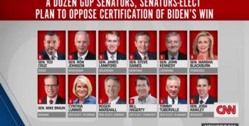 SEDITION? 12 GOP Senators Announce Plans To Fight Election Certification On January 6th