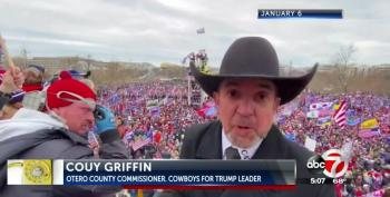'Cowboys For Trump' Leader Arrested By FBI For His Role In Capitol Hill Riot