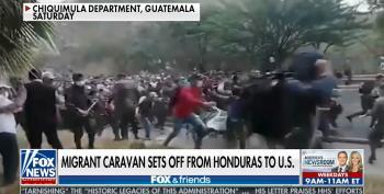 Fox Revives Their Fearmongering Over Migrant Caravans