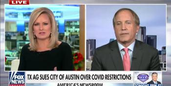 Corrupt Texas AG Paxton Sues Austin Over Lockdowns As Texas Shatters Daily COVID Case Record