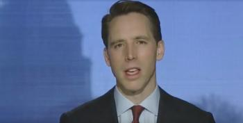 Josh Hawley's Career Circles The Drain After Donor And Publisher Reject Him