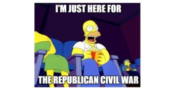 Now It's A Republican Crack-Up (Maybe)