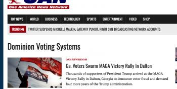 Too Late! OAN Scrubs Election Conspiracy Theories From Website
