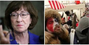 Susan Collins Earns Jeers As Her First Thought Was That Iranians Were Attacking, Not Pro-Trump Supporters