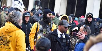 DOJ Brings Conspiracy Charges Against Proud Boys For Capitol Insurrection