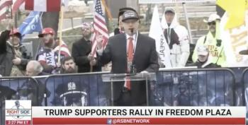 'Go Ahead And Spread It': Speaker At DC Rally Leads Group Hug At 'Mass-Spreader Event'