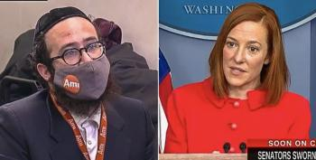 Psaki Stands Up For '81 Million' Biden Voters To Right Wing Reporter