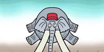 CARTOON: MAGA Elephant Roll