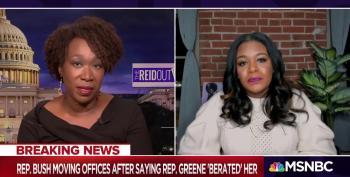 Rep. Cori Bush Rips 'White Supremacist' Rep. Greene For Threatening Her
