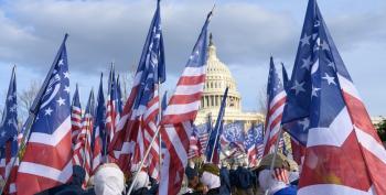 'Patriot Front' NeoNazi Marchers Wave Their Fascist Banners In Washington, D.C.