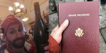 Capitol Hill Rioter Who Stole A Bottle Of Wine And Senate Book, Had 'No Regrets', Now Charged