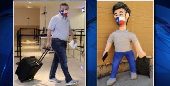 Dallas Party Store Creates Ted Cruz Piñatas