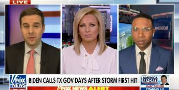 Fox's Pathetic Guy Benson Spins Texas GOP Disaster Into Biden's Hurricane Katrina