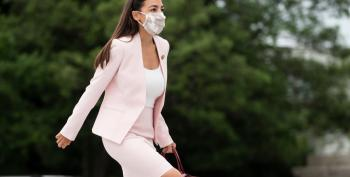 AOC Calls Out Turncoat Colleague Nancy Mace