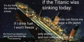 If The Titanic Was Sinking Today