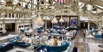 QAnon Gives Trump Hotel DC A Reason To Jack Up Prices