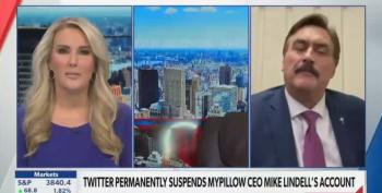 Lying MyPillow CEO Drives Newsmax Host Off The Set