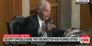 Ron Johnson Blames Capitol Riot On 'Outside Agitators' - UPDATED