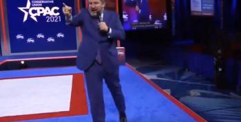 Ted Cruz Screams 'Freeeeedom!' At CPAC 2021