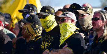 FBI: Call To Proud Boys Came From Inside White House