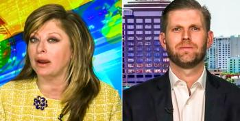 Maria Bartiromo And Eric Trump Whine About Biden's Weekend Trips To Delaware