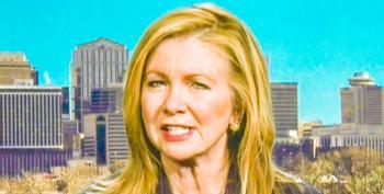 Sen. Marsha Blackburn Thumbs Her Nose At Capitol Police