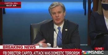 FBI Director: No Evidence Of 'Antifa' Or 'Fake Trump' Supporters At MAGA Riot