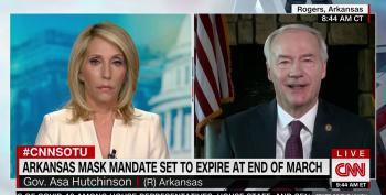 Arkansas GOP Governor: 'Common Sense Is Going To Replace Mandates'