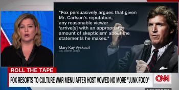 CNN's Brianna Keilar Shreds Tucker Carlson For Feeding His Viewers 'Partisan Junk Food'