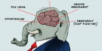 Cartoon: Elephant's Brain