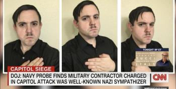 Capitol Rioter Found To Be Well-Known Nazi Sympathizer