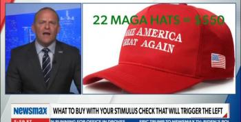 Newsmax Host Tells Viewers To Spend Stimulus Checks On Trump, NRA