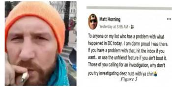 Capitol Hill Rioter Who Dared The FBI To 'Investigate Deez Nuts' Now Arrested