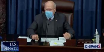 Senate Passes Biden's COVID Relief Bill: 50-49