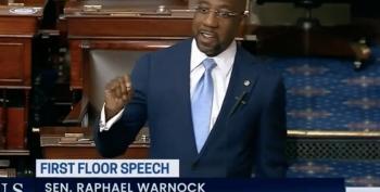 Rev. Sen. Warnock Nails GOP Hypocrisy On Filibuster