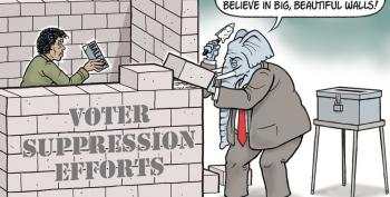 CARTOON: Suppression Walls