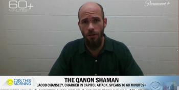 CBS Slammed For Giving Airtime To QAnon Shaman