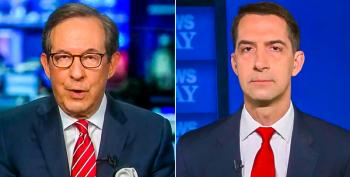 Chris Wallace Busts Tom Cotton For Opposing Relief Checks
