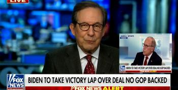 Chris Wallace Smashes Kudlow's Sudden Deficit Worries