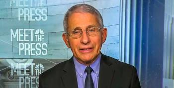 Dr. Fauci Says There's A 'Disturbing' Trend Of Trump Voters Rejecting COVID-19 Vaccinations