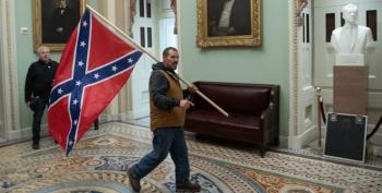 Confederate Flag-wavin' Rioter Indicted On Five Counts