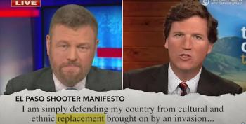 The Daily Show's Brutal Montage Of Tucker Carlson Using Language Of Mass Murderers