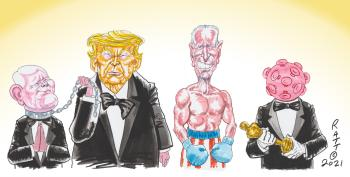 CARTOON: And The Oscar For Best Actor Goes To . . .