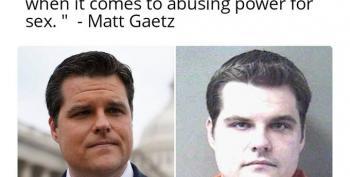 Who's Your Daddy Now, Matt Gaetz?
