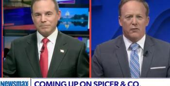 Newsmax Conducts Entire Interview With Sean Spicer On Mute